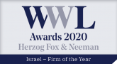 Herzog Fox & Neeman Won Firm of the Year for Israel in the WWL Awards 2020