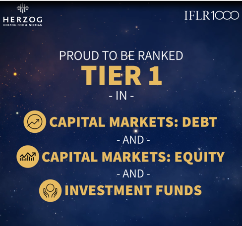 Proud to be ranked Tier 1 in : capital markets: debt, capital markets: equity, investment funds